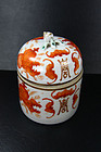 china porcelain republican wine warmer