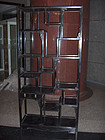 china Old  furniture Display Cabinet  Pair
