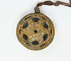 china qing wooden Pendant