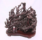 china  late qing   Forest  root