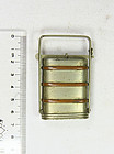 China brass food box republican complete