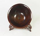 china woood rosewood bowl