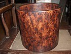 china old brushpot huali wood Republican period