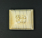China old Ivory belt hook