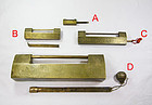 china old brass locks 4