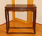 China Zitan Qin zhuo  Qing zither table