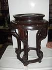 china old rosewood stool