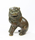 china old bronze paperweight  late Ming early qing