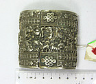 china old silver  belt buckle