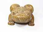China old Frog Large Ornament burl