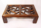 china  Republican rosewood footrest Jiaota