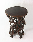 china Old root carving stand