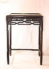 china old rosewood end table republican early