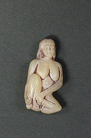 china old playmate  shoushan shi soapstone