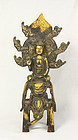 china gilt Buddha early qing
