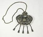 China silver lock