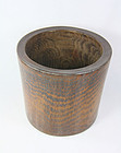 China Old bambo brushpot