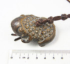 china old frog toggle qing