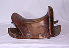 china qing wooden saddle  grande