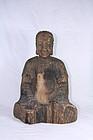 china  old  buiddha statu              e