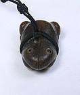china old banboo frog toggle