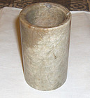 china Old stone brushpot xiu yu