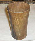 china old buffalo horn  brushpot