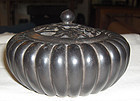 china  old  round box w cover