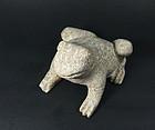 china  old  stone  frog