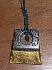 china  old pendant   jade