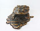 china Old root frog  huge