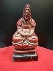 china old buddha lacquer