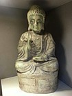 china old pottery buddha Yuan Dynasty