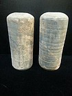 china pair funeral urns