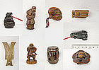 China Antiques Toggles Boxwood Various Themes