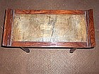 China Antique Huanghuali Miniature Altar Table Mid Qing