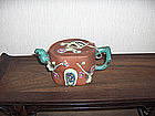 China  Yixing Republican Teapot enamel
