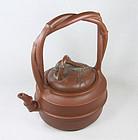 china Yixing tiliang Teapot  OUTSTANDING 1940