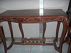 China  Antique Table Qing Cabriole  Inlay  Huanghuali
