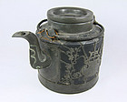 China  Republican  Yixing Teapot Pewter  Export