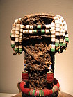a Mwila doll,Angola
