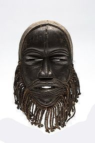 a Dan guere mask exhibited in 1956,