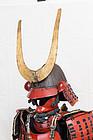 a japanese armour ,mi edo ,exhibited in Nantes museum