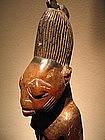 ibeji twin figure,Yoruba igbomina style,nigeria