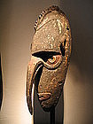 new guinea mask,ramu river