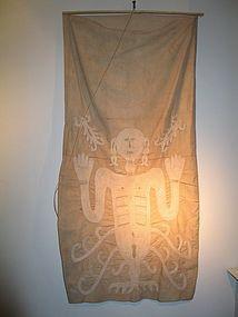 a rare sumba shroud,ex christies