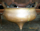 Chinese Bronze Censer Qing Dynasty