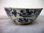 Chinese B/W Bowl Ming Dynasty