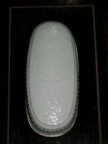 CHINESE QINGBAI COVERED BOX