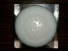 CHINESE QINGBAI COVERED BOX